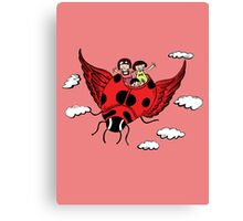 Cute cartoon Kids Canvas Print