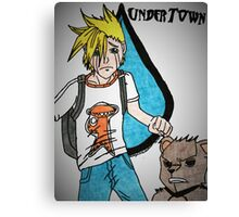 Sama and Eddie from Undertown Canvas Print