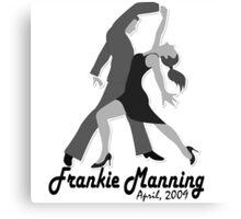 Frankie Manning - Dancer Canvas Print