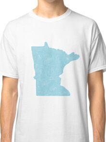 Minnesota Topo Classic T-Shirt