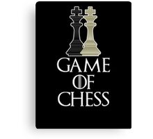 Game of Chess T Shirt Canvas Print