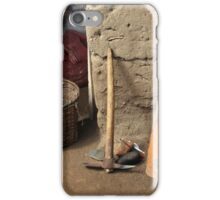 Tools Leaning Against a Wall iPhone Case/Skin