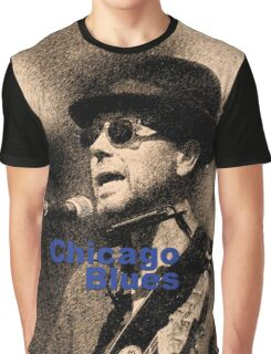 Chicago Blues Graphic T-Shirt