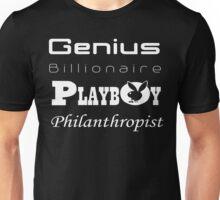 Genius, Billionaire, Playboy, Philanthropist Unisex T-Shirt