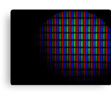 Pixel Lights Canvas Print