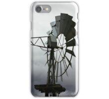 Spinning Wind Turbine iPhone Case/Skin