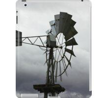 Spinning Wind Turbine iPad Case/Skin