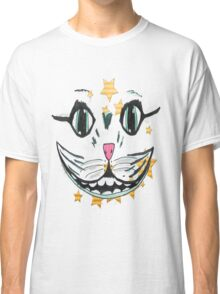 cat face smile  Classic T-Shirt