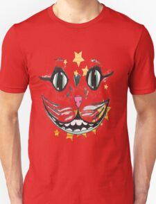 cat face smile  Unisex T-Shirt
