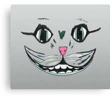 cat face smile  Canvas Print