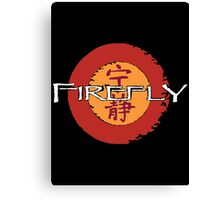 firefly stencil t Canvas Print