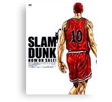 Slam dunk Canvas Print