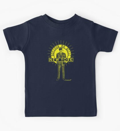Bonjour ma belle New York by Francisco Evans ™ Kids Tee