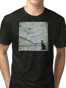 Watership Down Encaustic Tri-blend T-Shirt