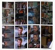 House Quotes Cont. Poster