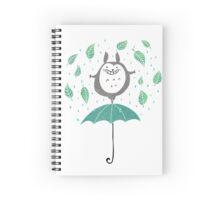 Joyful Totoro Spiral Notebook