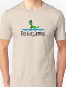T Rex Hates Swimming T-Shirt