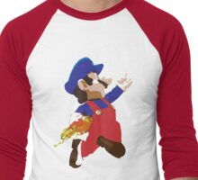 Mario - Super Smash Brothers Men's Baseball ¾ T-Shirt