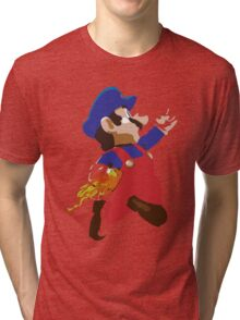 Mario - Super Smash Brothers Tri-blend T-Shirt