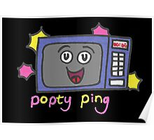 Popty ping Poster