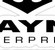 Wayne Enterpises Sticker