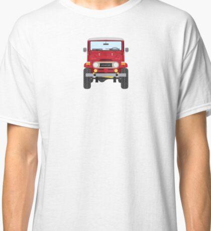 Toyota FJ40 (red) Classic T-Shirt