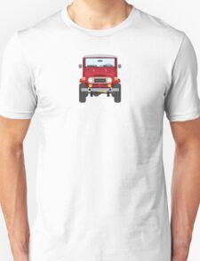 Toyota FJ40 (red) Unisex T-Shirt