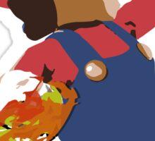 Mario - Super Smash Brothers Sticker
