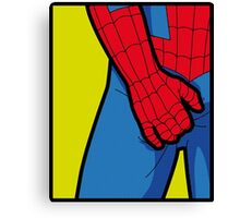 Itchy Spiderman Canvas Print