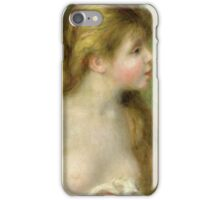 Renoir Auguste - Bather With Long Hair  iPhone Case/Skin