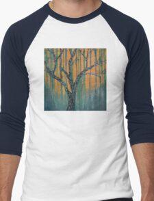 Winter Forest Men's Baseball ¾ T-Shirt