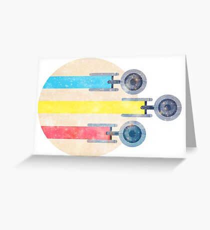 To Boldly Go [TOS] Greeting Card