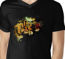 Panthera Tigris Mens V-Neck T-Shirt