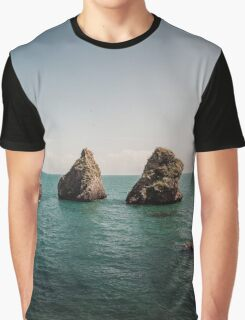 Rocks From the Sea Graphic T-Shirt