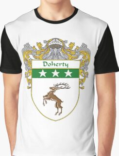 Doherty Coat of Arms/Family Crest Graphic T-Shirt