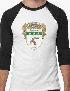 Doherty Coat of Arms/Family Crest Men's Baseball ¾ T-Shirt