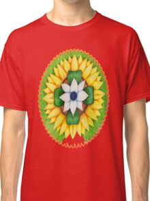 Lotus flower of life style  cute and fun.  Classic T-Shirt
