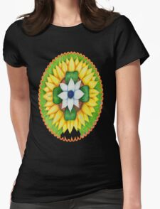 Lotus flower of life style  cute and fun.  Womens T-Shirt