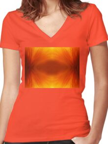 Do You Ever Wish? Women's Fitted V-Neck T-Shirt