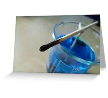 Copper Sulphate Corner Greeting Card