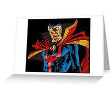 Dr. Doctor Strange Greeting Card