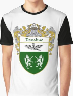 Donahue Coat of Arms/Family Crest Graphic T-Shirt