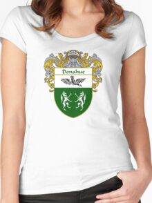 Donahue Coat of Arms/Family Crest Women's Fitted Scoop T-Shirt
