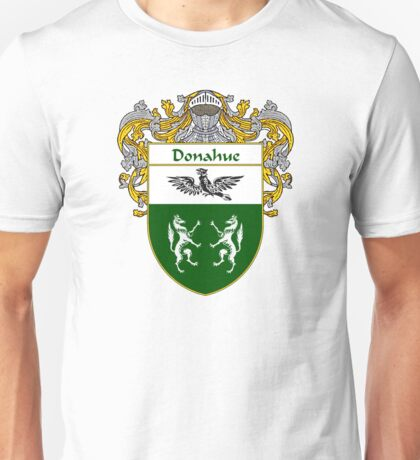 Donahue Coat of Arms/Family Crest Unisex T-Shirt