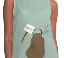 Peace Love and Spuds Contrast Tank