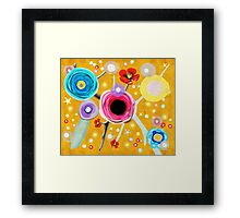 You're with me in heart, space and time Framed Print