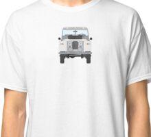 Land Rover (white) Classic T-Shirt
