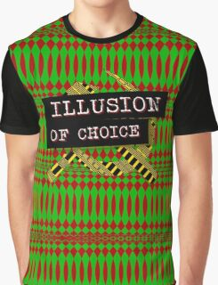 """Illusion Of Choice"" Graphic T-Shirt"