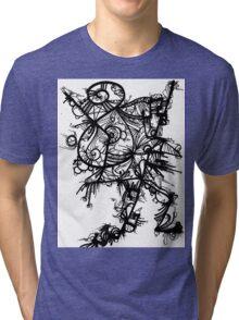 A little help from friends Tri-blend T-Shirt