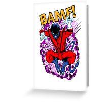 Bamf! Greeting Card